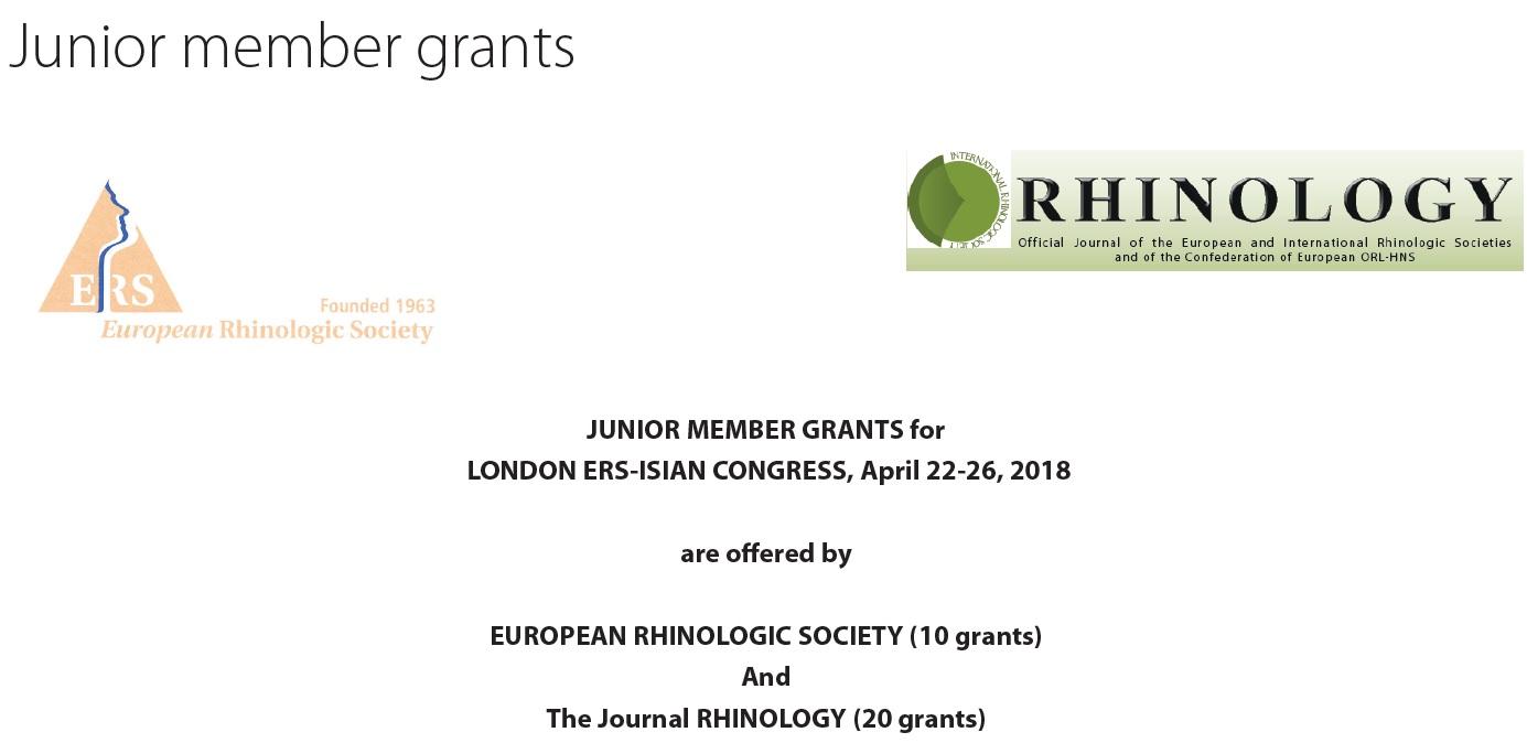 Junior members grants