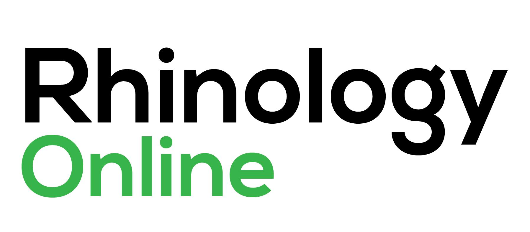 Rhinology online